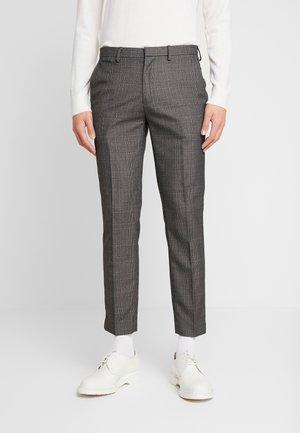 GREY RUST SKINNY FIT - Spodnie materiałowe - grey