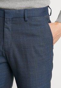 Burton Menswear London - HIGHLIGHT CHECK - Pantalon classique - blue - 3