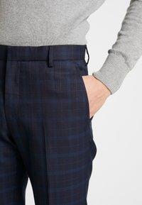 Burton Menswear London - HIGHLIGHT CHECK - Kalhoty - navy - 3