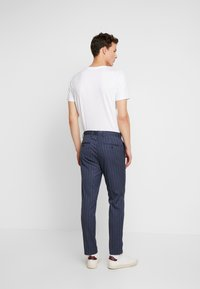 Burton Menswear London - CHALK STRIPE - Kalhoty - blue - 2