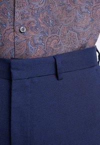 Burton Menswear London - COBALT DOGTOOTH - Broek - blue - 4