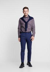 Burton Menswear London - COBALT DOGTOOTH - Broek - blue - 1