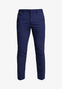 Burton Menswear London - COBALT DOGTOOTH - Broek - blue - 3