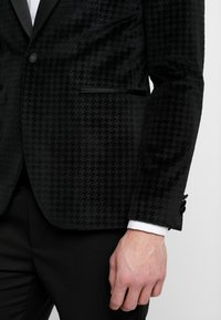 Burton Menswear London - DOGTOOTH  - Suit jacket - green - 4