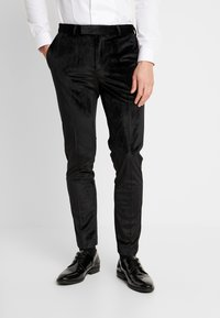 Burton Menswear London - PARTY - Trousers - black - 0