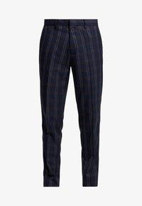 Burton Menswear London - TART CHECK - Spodnie materiałowe - mid blue - 4