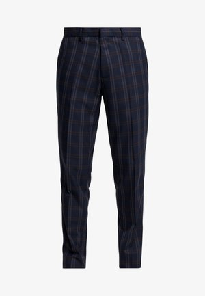 TART CHECK - Trousers - mid blue