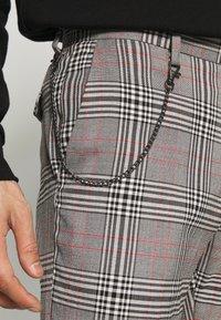 Burton Menswear London - Tygbyxor - grey - 3