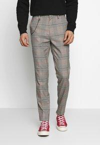Burton Menswear London - Tygbyxor - grey - 0