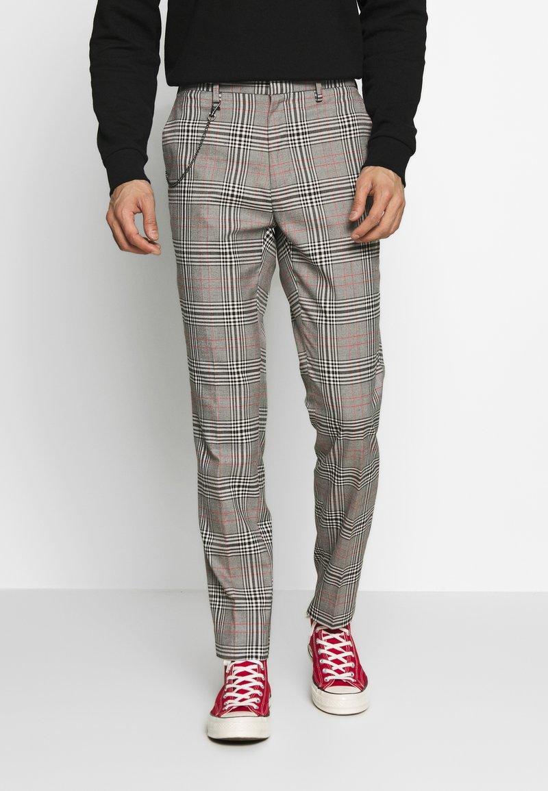 Burton Menswear London - Tygbyxor - grey