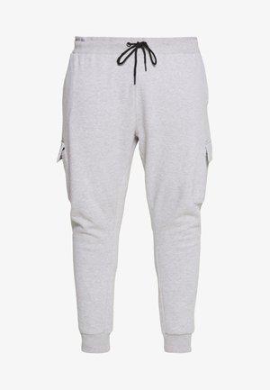 BIG CORE CARGO JOGGER - Pantalon de survêtement - grey marl
