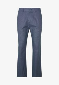 Burton Menswear London - SLIM TEXTYRED - Pantaloni eleganti - blue - 3