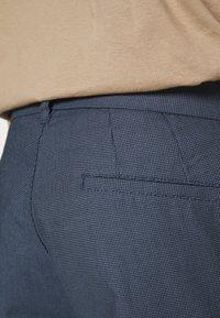 Burton Menswear London - SLIM TEXTYRED - Pantaloni eleganti - blue - 4
