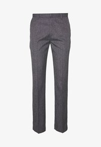 Burton Menswear London - NEW SLIM CROSSHATCH - Kalhoty - grey - 3