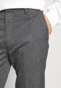Burton Menswear London - NEW SLIM CROSSHATCH - Kalhoty - grey