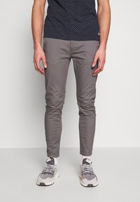Burton Menswear London - Chinot - grey - 0