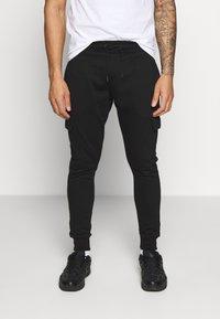 Burton Menswear London - CORE CARGO - Teplákové kalhoty - navy - 0