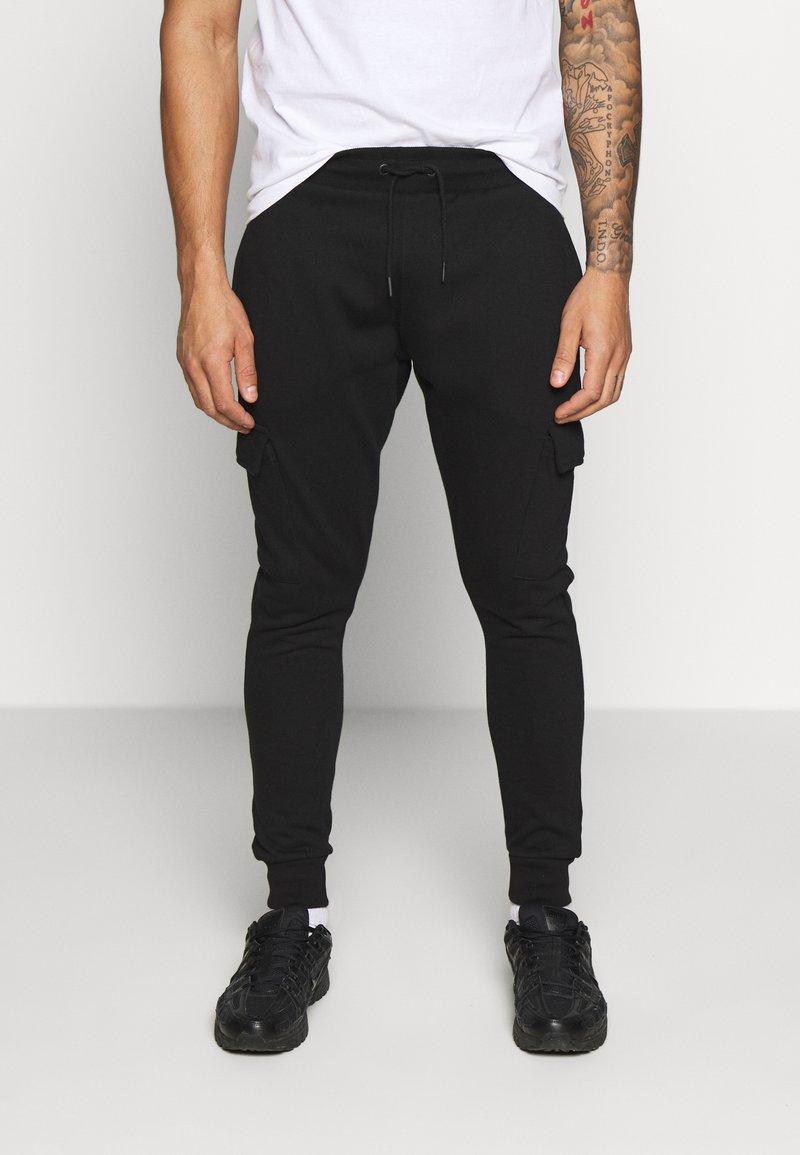 Burton Menswear London - CORE CARGO - Teplákové kalhoty - navy