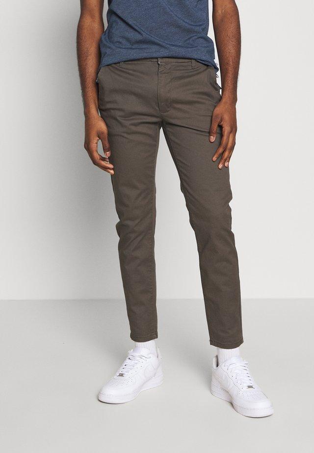 Chino kalhoty - khaki