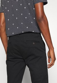 Burton Menswear London - STRETCH - Chino kalhoty - black - 5