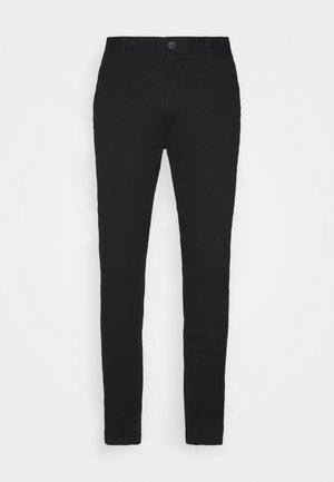 STRETCH - Chinos - black