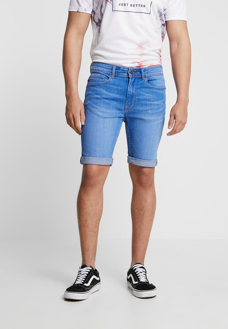 Burton Menswear London - Denim shorts - blue