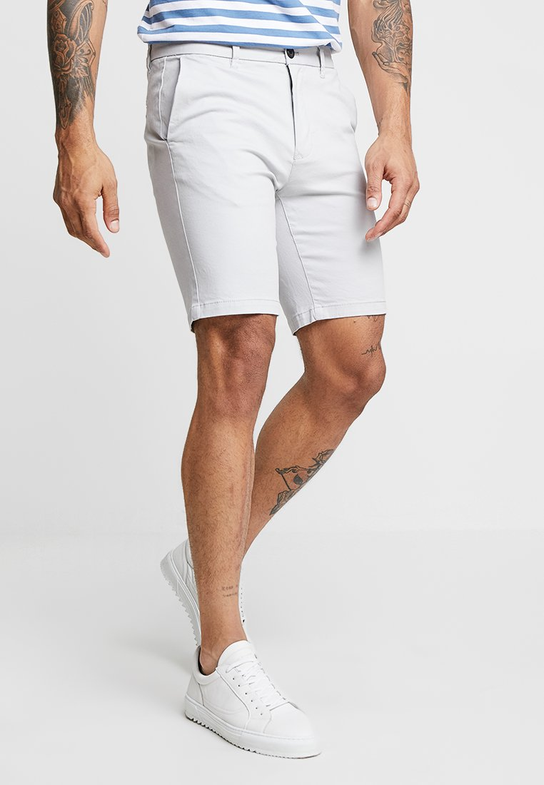 Burton Menswear London - NEW CASUAL - Shorts - light grey