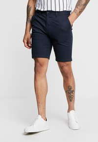 Burton Menswear London - NEW CASUAL - Szorty - navy - 0