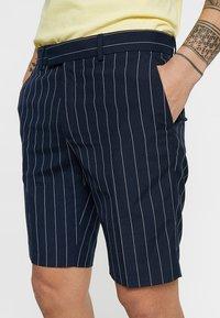 Burton Menswear London - SMART PIN STRIPE - Shorts - navy - 5