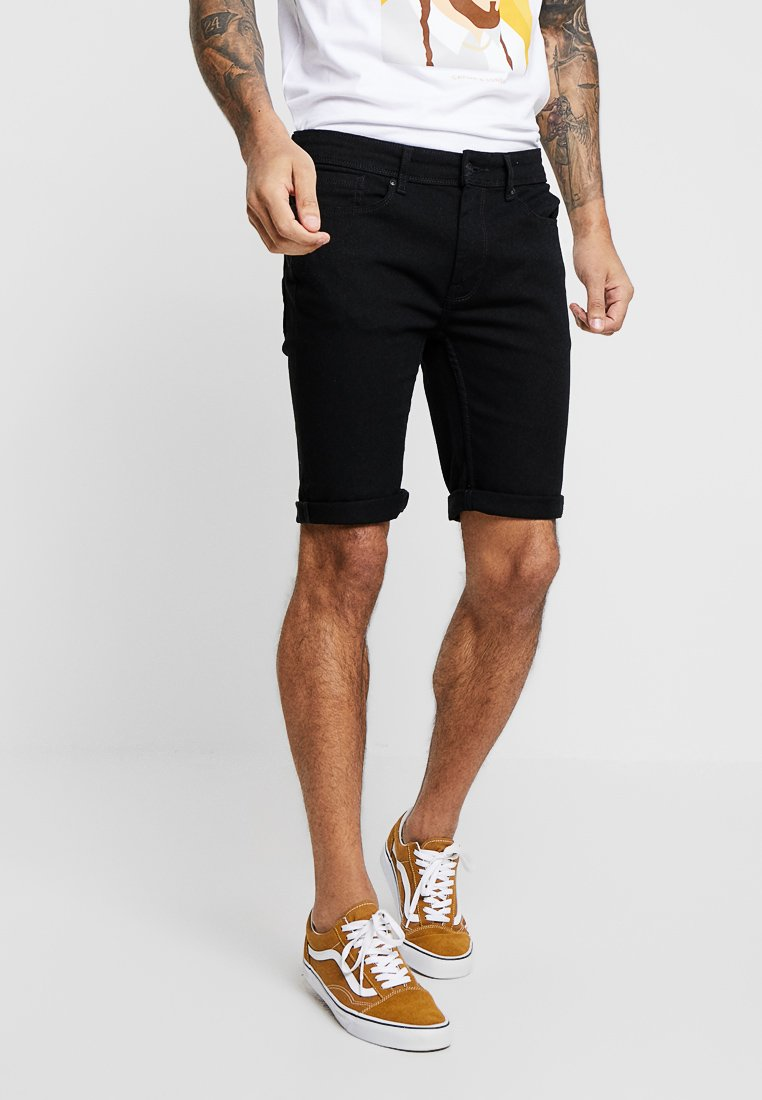 Burton Menswear London - Jeans Shorts - black