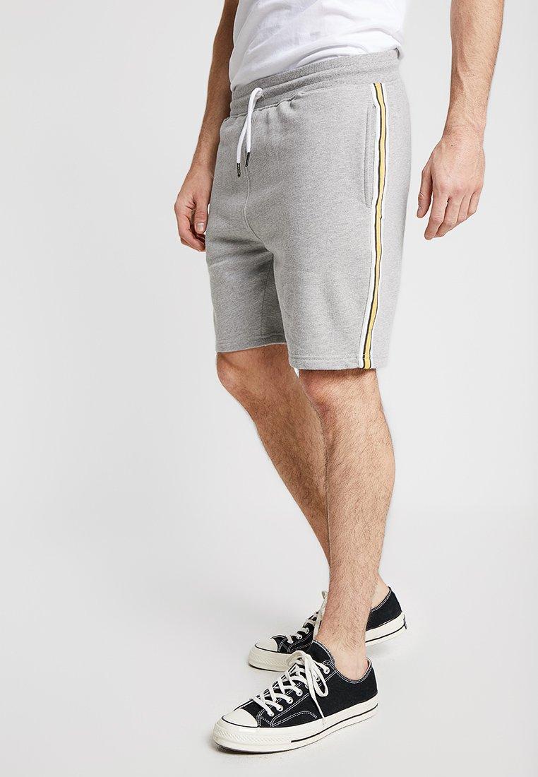 Burton Menswear London - SIDE STRIPE - Shorts - grey