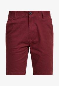 Burton Menswear London - SUMERBURG - Kraťasy - burgundy - 4