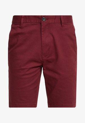 SUMERBURG - Shorts - burgundy