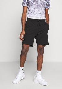 Burton Menswear London - 2 PACK - Shorts - black/grey - 3