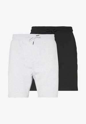 2 PACK - Short - black/grey