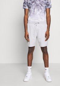 Burton Menswear London - 2 PACK - Shorts - black/grey - 1