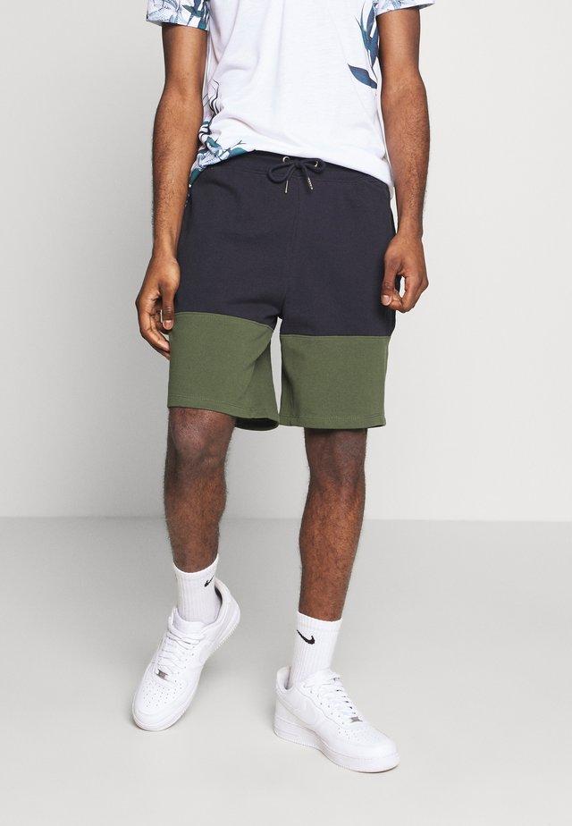 BURG C BLOCK - Pantaloni sportivi - green