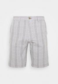 Burton Menswear London - SMART CHECK - Shorts - grey - 0