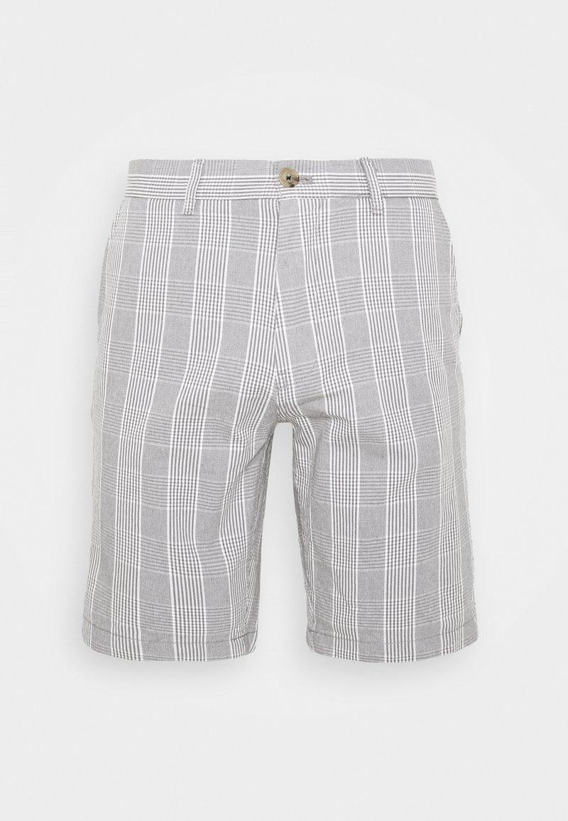 Burton Menswear London - SMART CHECK - Shorts - grey