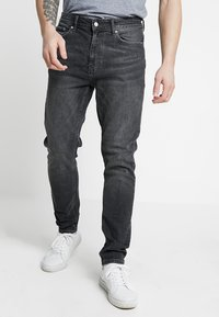 Burton Menswear London - TRAVIS TAPERED - Jeans Tapered Fit - grey - 0