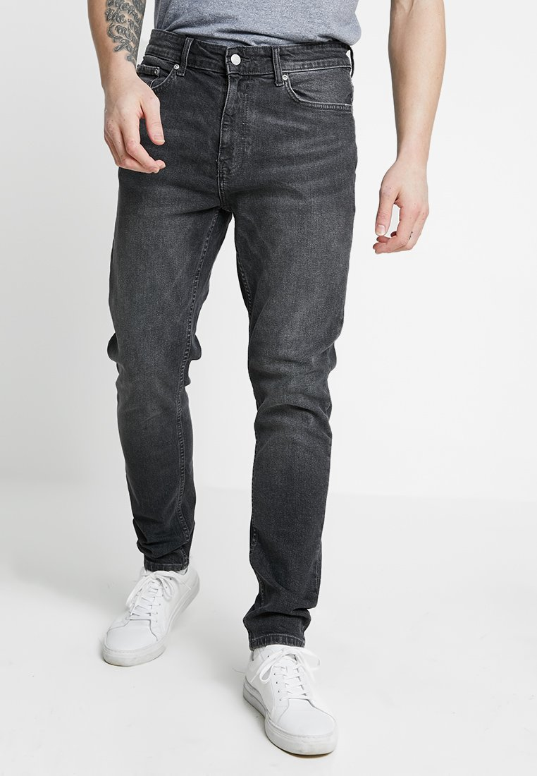 Burton Menswear London - TRAVIS TAPERED - Jeans Tapered Fit - grey