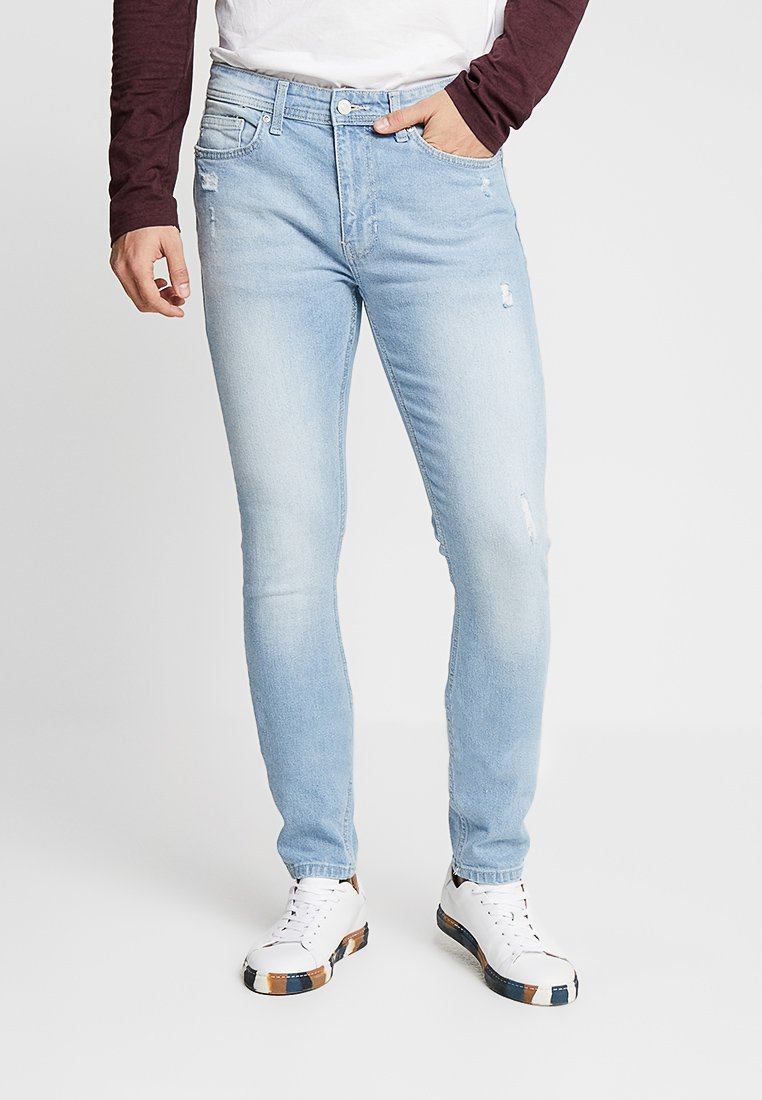 Burton Menswear London - TRAVIS TAPERED - Jeans Tapered Fit - blue