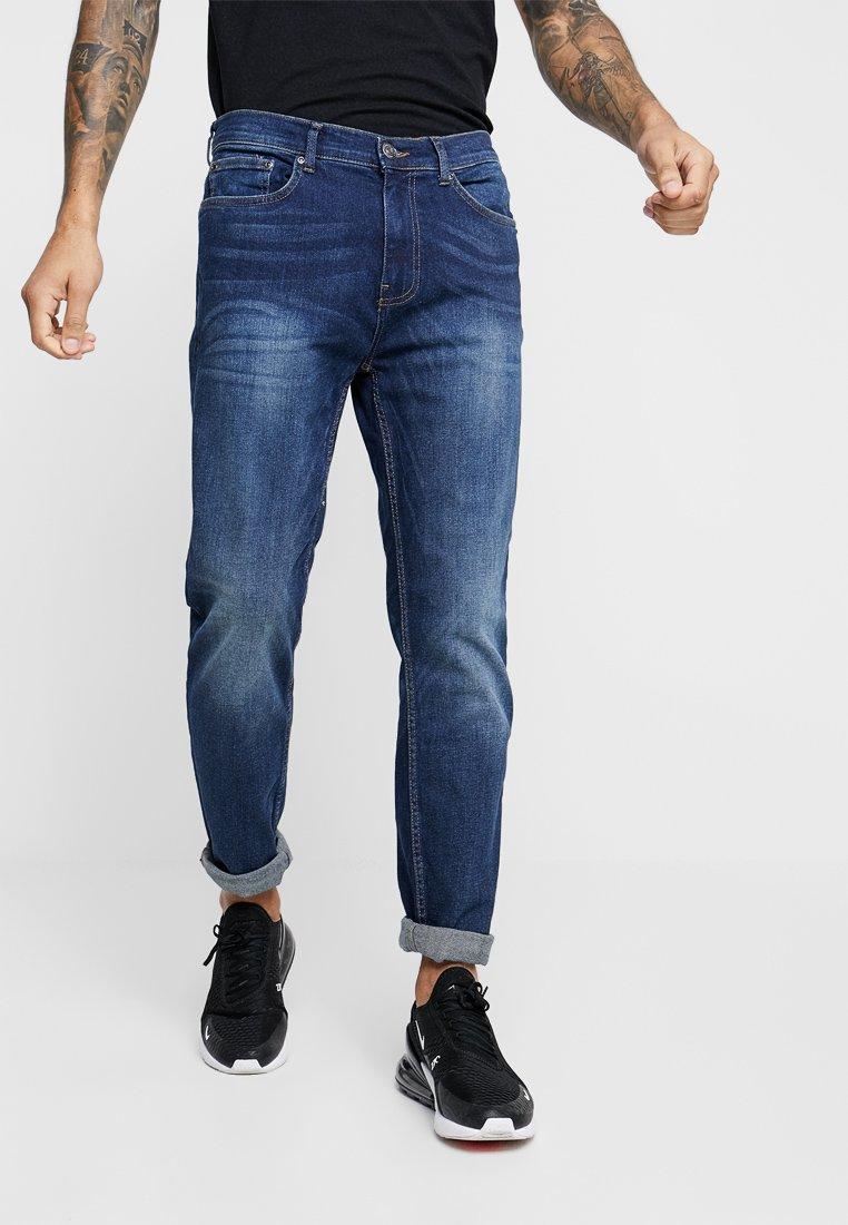 Burton Menswear London - Jeans Tapered Fit - mid blue