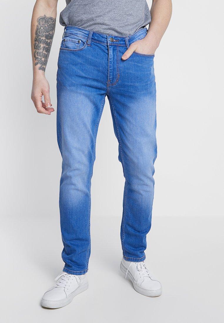 Burton Menswear London - BUZZY  - Slim fit jeans - blue