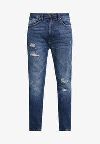 Burton Menswear London - Jeansy Zwężane - dark blue - 3