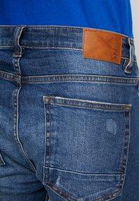 Burton Menswear London - Jeansy Zwężane - dark blue - 4