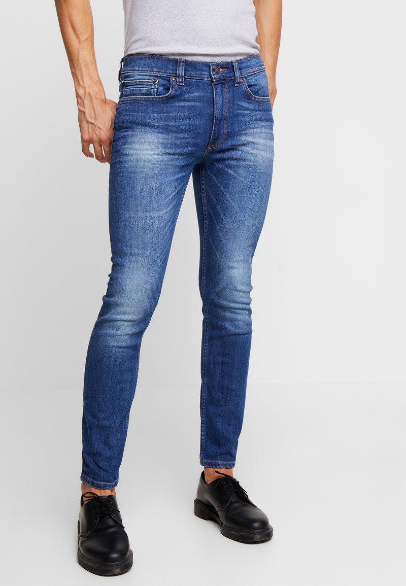 Burton Menswear London - VINTAGE BLUE - Jeans Skinny Fit - mid blue