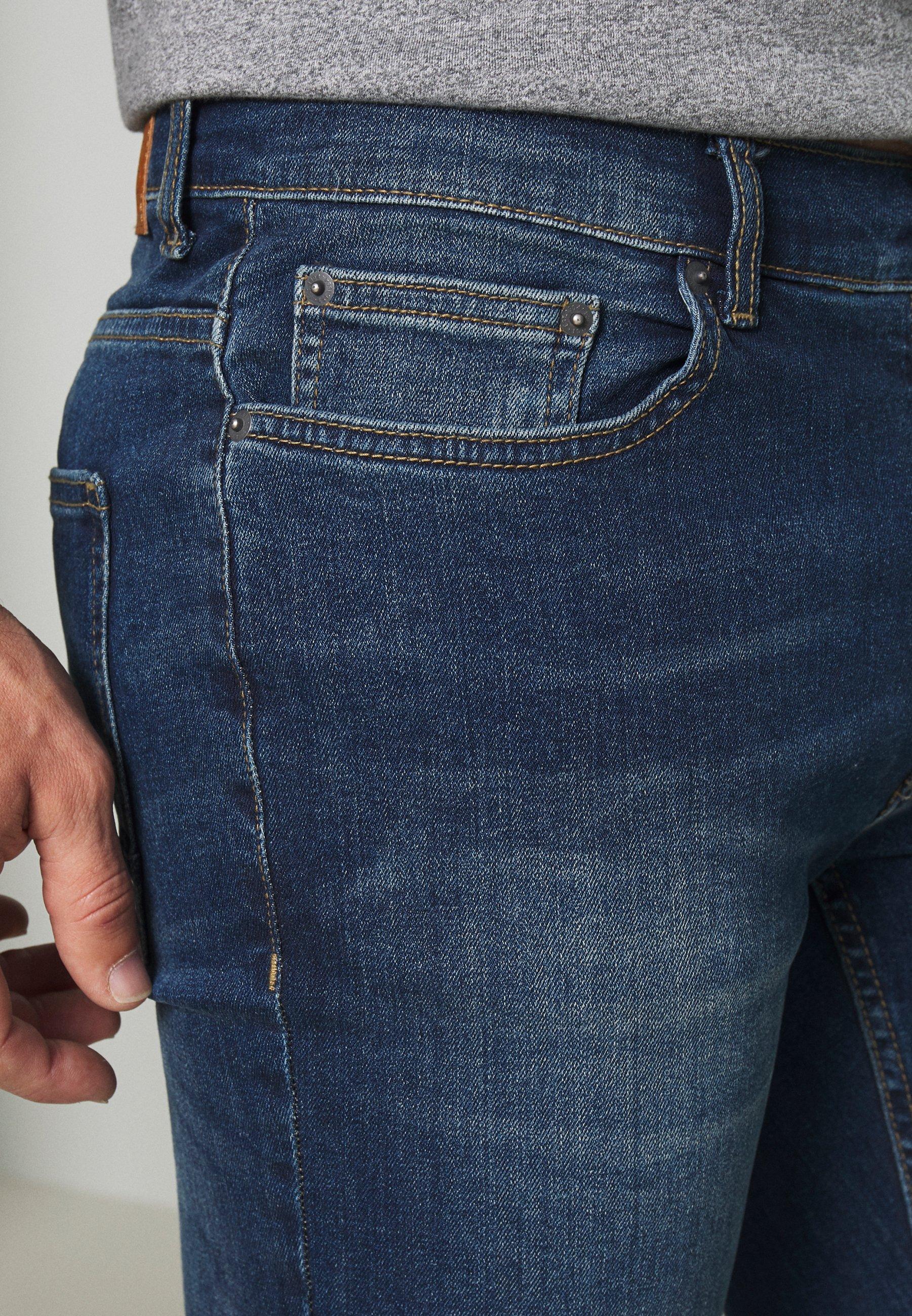 Burton Menswear London Skinny Mid Wash Us - Jeans Fit Blue