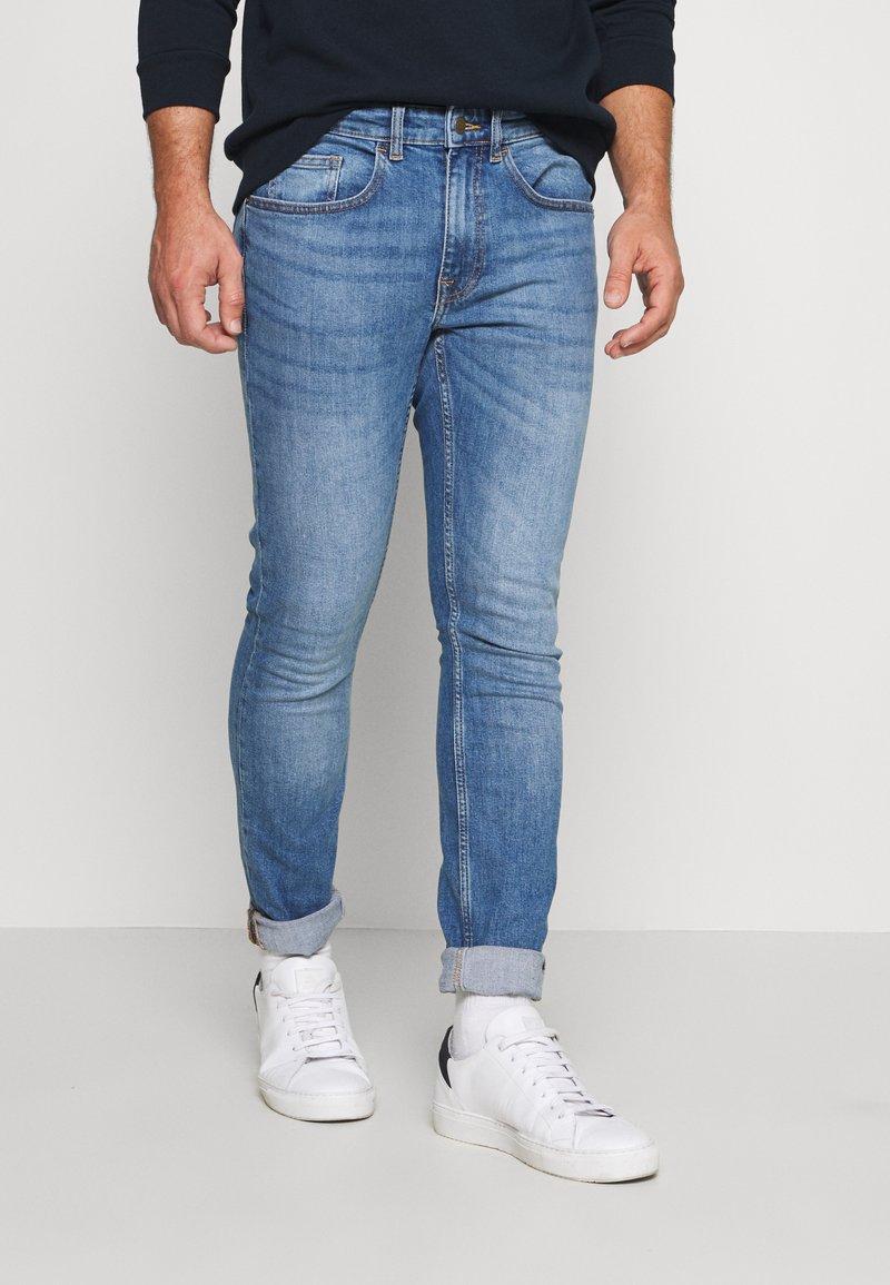 Burton Menswear London - Jeans slim fit - bright blue