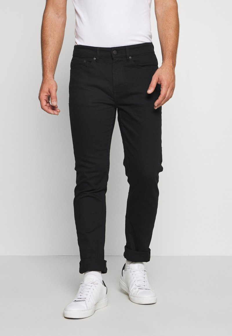Burton Menswear London - Džíny Slim Fit - black